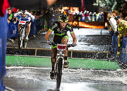 03.08.2012, Kaprun, AUT, Bike Infection, XC BATTLE, im Bild Dennis Ebert (NED). EXPA Pictures © 2012, PhotoCredit: EXPA/ Juergen Feichter