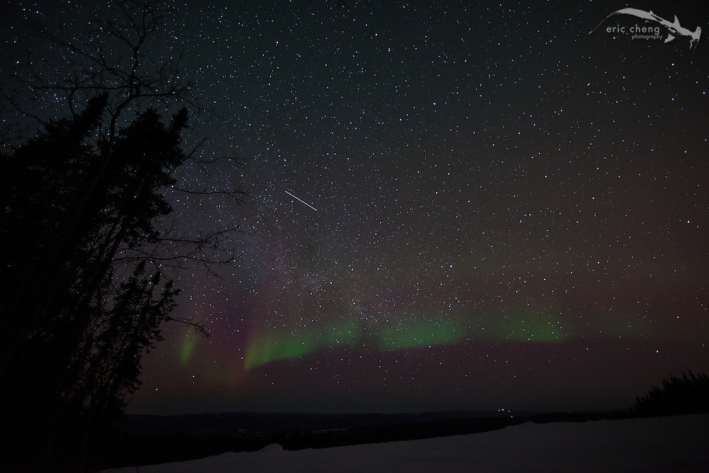Northern lights. Fairbanks, Alaksa.