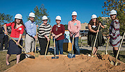during a groundbreaking ceremony at Wilson Montessori, November 15, 2016.