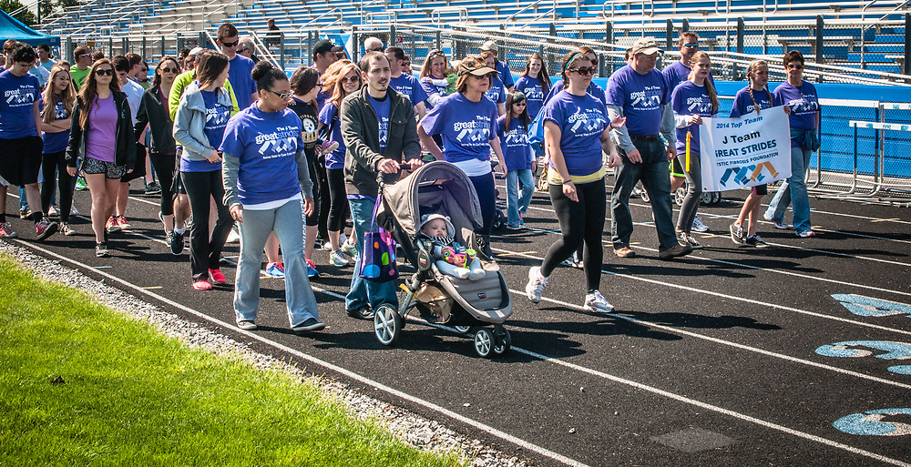 Fund raising walk to find a cure and care for people with Cystic Fibrosis a chronic lung disease that affect more than 70,000 children and adults worldwide. Location, New Holland, PA.  Lancaster County, USA.