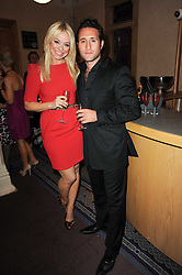Singers ANTHONY COSTA and LIZ McCLARNON at the Inspiration Awards For Women held at Cadogan Hall, Sloane Terrace, London on 6th October 2010.