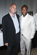 l to r: J.P. Oliver and Jeff Friday at The ABFF Luncheon Hosted by HSBC and Rush Philanthropic Arts held at The Delano in Miami Beach on June 27, 2009..The American Black Film Festival is an industry retreat and competitve marketplace for films and by and about people of color.