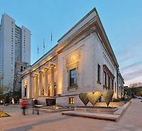 Museum of Fine Arts, Musée des Beaux Arts, Arrondissement Ville-Marie, Montreal, Quebec, Canada