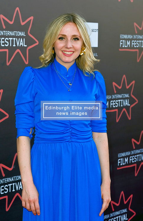 Edinburgh International Film Festival, Monday, 25th June 2018<br /> <br /> JELLYFISH (European Premiere)<br /> <br /> Pictured: Sinead Matthews<br /> <br /> (c) Alex Todd   Edinburgh Elite media
