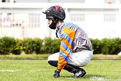 Jockey Charlie Bennett - Mandatory by-line: Robbie Stephenson/JMP - 06/08/2020 - HORSE RACING - Bath Racecourse - Bath, England - Bath Races