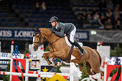 SMITH Spencer (USA), Diablo<br /> Stuttgart - German Masters 2018<br /> Int. 2-Phasen-Springen<br /> CSI5*-W Qualifikation<br /> 15. November 2018<br /> © www.sportfotos-lafrentz.de/Stefan Lafrentz