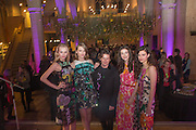 CHRISTOPHER KANE AND MODELS, Fashion and Gardens, The Garden Museum, Lambeth Palace Rd. SE!. 6 February 2014.
