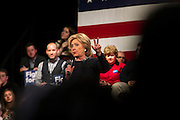 Democratic presidential candidate, Hillary Rodham Clinton speaks during a town hall meeting at the Rochester Opera House in Rochester, N.H. Friday, Jan. 22, 2016.  CREDIT: Cheryl Senter for The New York Times