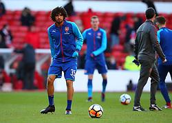 Mohamed Elneny of Arsenal - Mandatory by-line: Robbie Stephenson/JMP - 07/01/2018 - FOOTBALL - The City Ground - Nottingham, England - Nottingham Forest v Arsenal - Emirates FA Cup third round proper