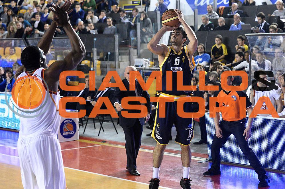 DESCRIZIONE : Roma Lega serie A 2013/14 Acea Virtus Roma Sutor Montegranaro<br /> GIOCATORE : Nemanja Mitrovic<br /> CATEGORIA : tiro tre punti<br /> SQUADRA : Sutor Montegranaro<br /> EVENTO : Campionato Lega Serie A 2013-2014<br /> GARA : Acea Virtus Roma Sutor Montegranaro<br /> DATA : 18/01/2014<br /> SPORT : Pallacanestro<br /> AUTORE : Agenzia Ciamillo-Castoria/M.Greco<br /> Fotonotizia : Roma Lega serie A 2013/14 Acea Virtus Roma Sutor Montegranaro<br /> Predefinita :
