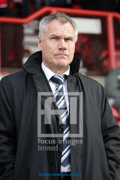 London - Saturday, March 14th, 2009: Wycombe Wanderers manager Peter Taylor during the Coca Cola League Two match at Griffin Park, London. (Pic by Mark Chapman/Focus Images)