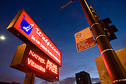 Walgreens pharmacy and signage in the Lakeview neighborhood of Chicago.