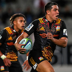 Anton Lienert Brown of the Chiefs during the Super Rugby Match between the Blues and the Chiefs at Eden Park in Auckland, New Zealand on Friday, 26 May 2017. Photo: Simon Watts / www.lintottphoto.co.nz