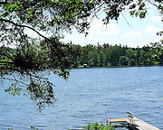 Mud Lake near Park Rapids, Minnesota, provides a tranquil setting in summer.