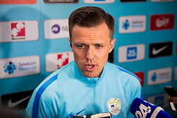 Josip Ilicic during Training of Slovenian National Football team before friendly matches with Austria and Belarus, on March 19, 2018 in Football National Centre, Brdo pri Kranju, Kranj, Slovenia. Photo by Ziga Zupan / Sportida