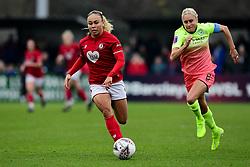 Ebony Salmon of Bristol City - Mandatory by-line: Ryan Hiscott/JMP - 24/11/2019 - FOOTBALL - Stoke Gifford Stadium - Bristol, England - Bristol City Women v Manchester City Women - Barclays FA Women's Super League