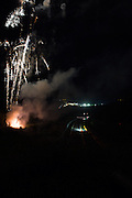 Fireworks keep the crowd entertained during the Francorchamps Endurance Series at Spa, Belguim on 31 July 2016. Photo by Jarrod Moore.