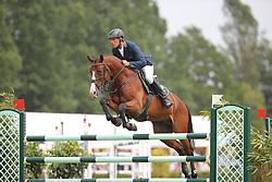 Ahlmann, Dirk, Quick Fire<br /> Elmshorn - Holsteiner Pferdetage<br /> Spezialspringpferdeprüfung Kl. M Finale 6j.<br /> © www.sportfotos-lafrentz.de/ Stefan Lafrentz