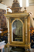 Israel, Ein Hod Artists village, The Nisco Museum of Mechanical Music. Disk operated music box