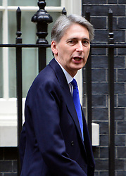 © Licensed to London News Pictures. 18/10/2012. Westminster, UK Defence Secretary Philip Hammond on Downing Street today, 18 October 2012. Photo credit : Stephen Simpson/LNP