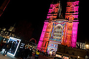 The Light of The Spirit<br /> by Patrice Warrener at Westminster Abbey - Lumiere London: the &lsquo;biggest-ever&rsquo; light festival to hit the capital.  Produced by Artichoke and supported by the Mayor of London, for four evenings in January a host of international artists illuminate the city from 6:30pm to 10:30pm each night.  Iconic architecture has been transformed with 3D projections, interactive installations and other extraordinary light works.