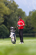 Golf Shooting with Paris Buckingham, professional golf player from Interlaken, Switzerland