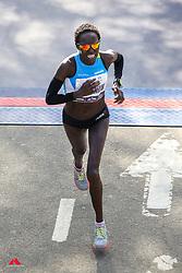 Aliphine Tuliamuk, USA, HOKA<br /> TCS New York City Marathon 2019