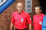 Premiership referee Roger East before the EFL Sky Bet League 1 match between Peterborough United and Portsmouth at London Road, Peterborough, England on 15 September 2018.