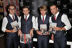 OCT 11 2012 McFly Booksigning, London, UK