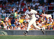 CHICAGO - 1990:  Frank Thomas of the Chicago White Sox runs the bases during an MLB game at Comiskey Park in Chicago, Illinois.  Thomas played for the White Sox from 1990-2005.  (Photo by Ron Vesely)