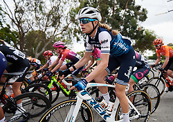 Tayler Wiles (USA) in the bunch at Santos Women's Tour Down Under 2019 - Stage 1, a 112.9 km road race from Hahndorf to Birdwood, Australia on January 10, 2019. Photo by Sean Robinson/velofocus.com