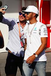 Lewis Hamilton (GBR) Mercedes AMG F1.<br /> 27.11.2016. Formula 1 World Championship, Rd 21, Abu Dhabi Grand Prix, Yas Marina Circuit, Abu Dhabi, Race Day.<br /> Copyright: Batchelor / XPB Images / action press