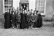 15/03/1964<br /> 03/15/1964<br /> 15 March 1964<br /> Fr Donal Sullivan, first Mass at St. Joseph's Vincentian Novitiate, Temple Road, Blackrock, Dublin. Fr Sullivan (centre) picture with family and wellwishwers after his first Mass.