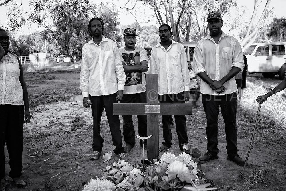 Funeral of Mona Angus in Djarindjin