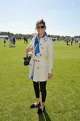 DELFINA FIGUERAS at the St.Regis International Polo Cup at Cowdray Park, Midhurst, West Sussex on 16th May 2015.