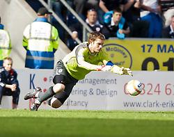 Falkirk's Michael McGovern..Falkirk v Raith Rovers, 18/8/2012..