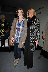 Left to right, CLARISSA AGNEW and her mother MARIE CLAIRE AGNEW at the Moet Hennessy Pavilion of Art & Design London Prize 2009 held in Berkeley Square, London on 12th October 2009.
