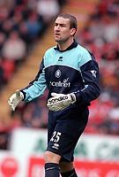 Mark Crossley (Middlesbrough) Charlton Athletic v Middlesbrough, FA Premiership, 21/10/2000. Credit: Colorsport / Nick Kidd