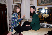 LADY SOPHIA HAMILTON; NANCY LICHTERMAN-BRET, Hamlton-Paris host a trunk show for Autumn/Wnter 2010. The Connaught. Carlos Place. Mayfair. London W1. 23 March 2010.