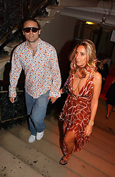 JAMES and TARA ARCHER at the Royal Academy of Art's SUmmer Party following the official opening of the Summer Exhibition held at the Royal Academy of Art, Burlington House, Piccadilly, London W1 on 7th June 2006.<br />
