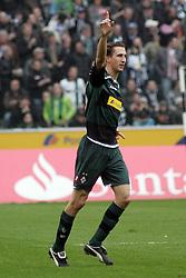 28-03-2010 VOETBAL: BORUSSIA MONSCHENGLADBACH - HSV: MOENSCHENGLADBACH<br /> Roel Brouwer scoort de 1-0 <br /> ©2010- FRH-nph / Mueller