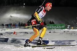 05.01.2012, DKB-Ski-ARENA, Oberhof, GER, E.ON IBU Weltcup Biathlon 2012, Staffel Herren, im Bild Arnd Peiffer (GER) // during relay Mens of E.ON IBU World Cup Biathlon, Thüringen, Germany on 2012/01/05. EXPA Pictures © 2012, PhotoCredit: EXPA/ nph/ Hessland..***** ATTENTION - OUT OF GER, CRO *****