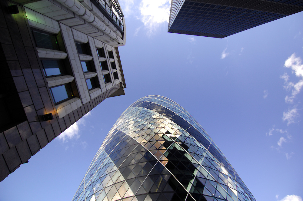 30 St.Mary Axe Building, City, London, Great Britain, UK