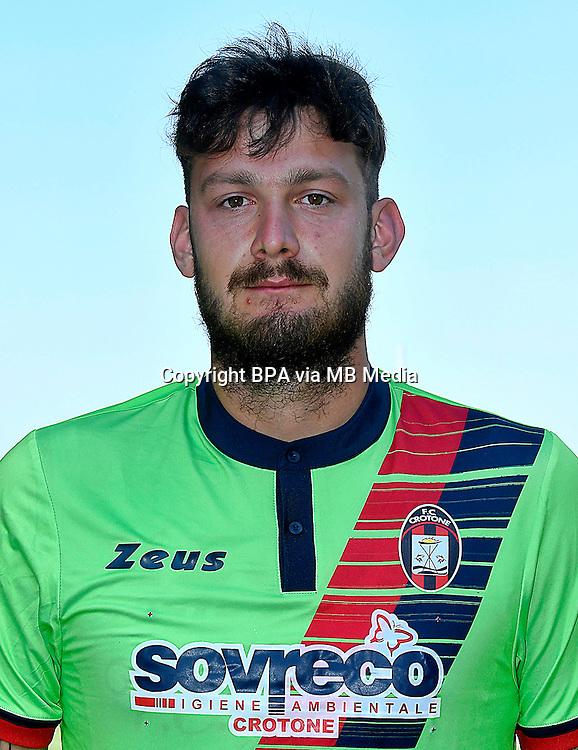 Italian League Serie A -2016-2017 / <br /> ( Fc Crotone ) - <br /> Marco Festa