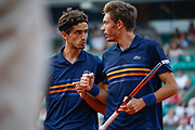 Nicolas MAHUT (FRA) and Pierre-Hugues HERBERT (FRA) won the double men during the Roland Garros French Tennis Open 2018, Final Women, on June 9, 2018, at the Roland Garros Stadium in Paris, France - Photo Stephane Allaman / ProSportsImages / DPPI