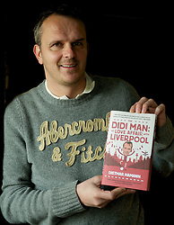16.01.2012, Anfield, Liverpool, ENG, PL, Anfield Rap Aufnahme, im Bild Dietmar Hamann with his book 'The Didi Man: My Love Affair with Liverpool' after the recording of the Anfield Wrap podcast at Parr Street Studios. EXPA Pictures © 2012, PhotoCredit: EXPA/ Propagandaphoto/ David Rawcliffe..***** ATTENTION - OUT OF ENG, GBR, UK *****