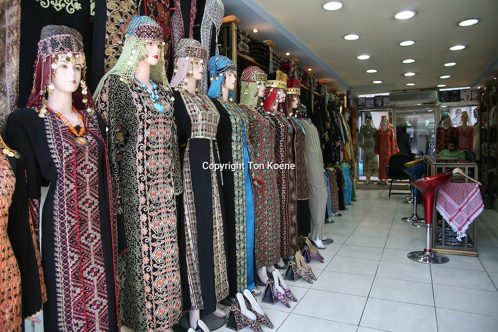 traditional dresses in Amman, Jordan