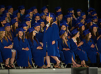 Gilford High School graduation at Meadowbrook Pavilion.  Karen Bobotas/for The Laconia Daily Sun