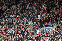 Photo: Rich Eaton.<br /> <br /> Oxford United v Leyton Orient. Coca Cola League 2. 06/05/2006.<br /> <br /> fans celebrate their promotion