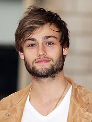 Douglas Booth arriving at the launch  of the Royal Academy Summer Exhibition in London Wednesday, 30th May 2012  Photo by: Stephen Lock / i-Images